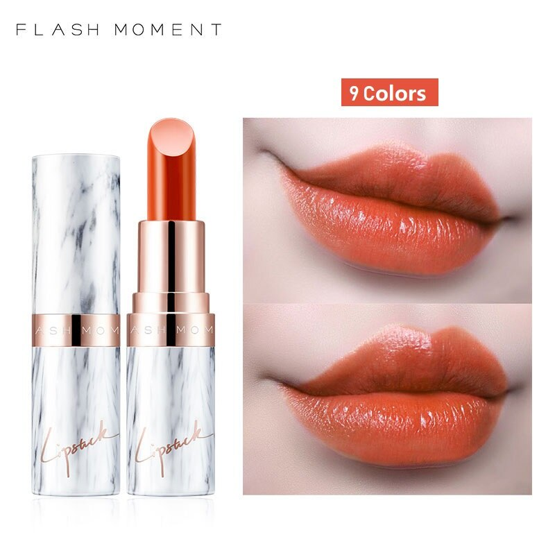 Marble Velvet Matte Lipstick Waterproof Long Lasting Lip Stick Sexy Red Brown Pigments Makeup Beauty Lips Makeup 9 Colors недорого