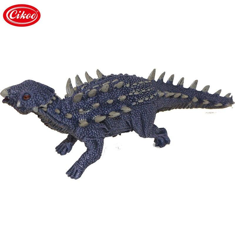 Jurassic World Dinosaur Action Figure Toys Simulation Saichania Plastic Pvc Model Collection For Kids Gifts