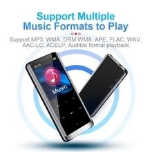 8G MP3 플레이어 휴대용 무손실 사운드 BT 디지털 플레이어와 FM 라디오 obook 백라이트 키 내장 스피커