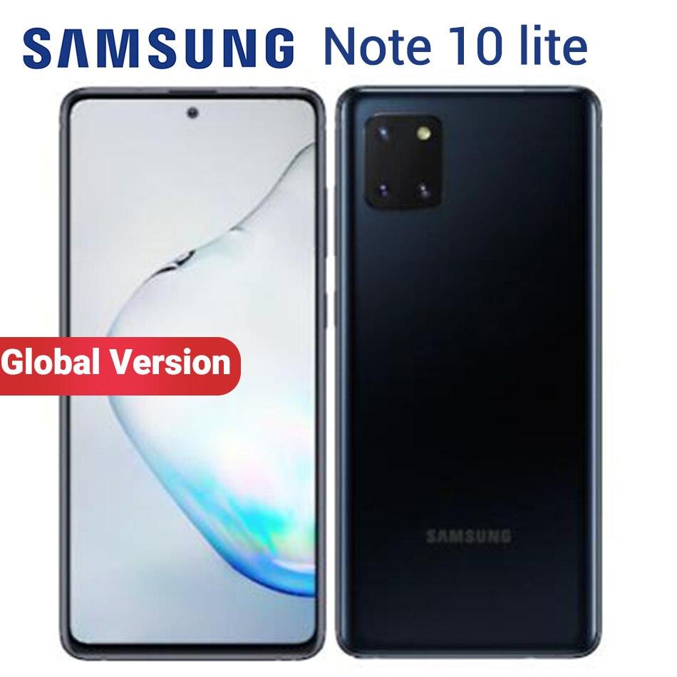 Смартфон Samsung Galaxy Note 10 Lite, 8 + 128 ГБ, 9810 дюйма, 2 SIM-карты, 6,7 мАч