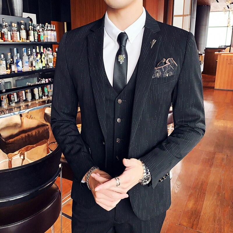 Blazer de manga larga para hombre, moda coreana, informal, holgado, Vintage, de...