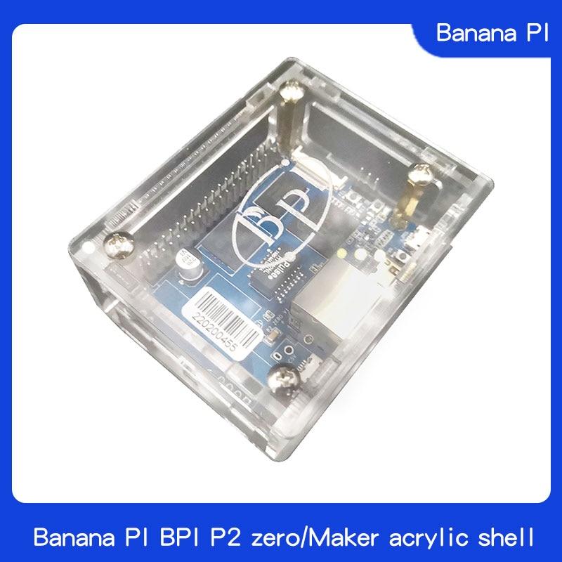 Banana pie pi bpi p2 zero/fabricante de casca acrílica