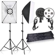 Éclairage de photographie accessoires de lumière de prise de vue continue boîte à lumière boîte à lumière pour Studio Photo boîte à lumière caméra Kit vidéo