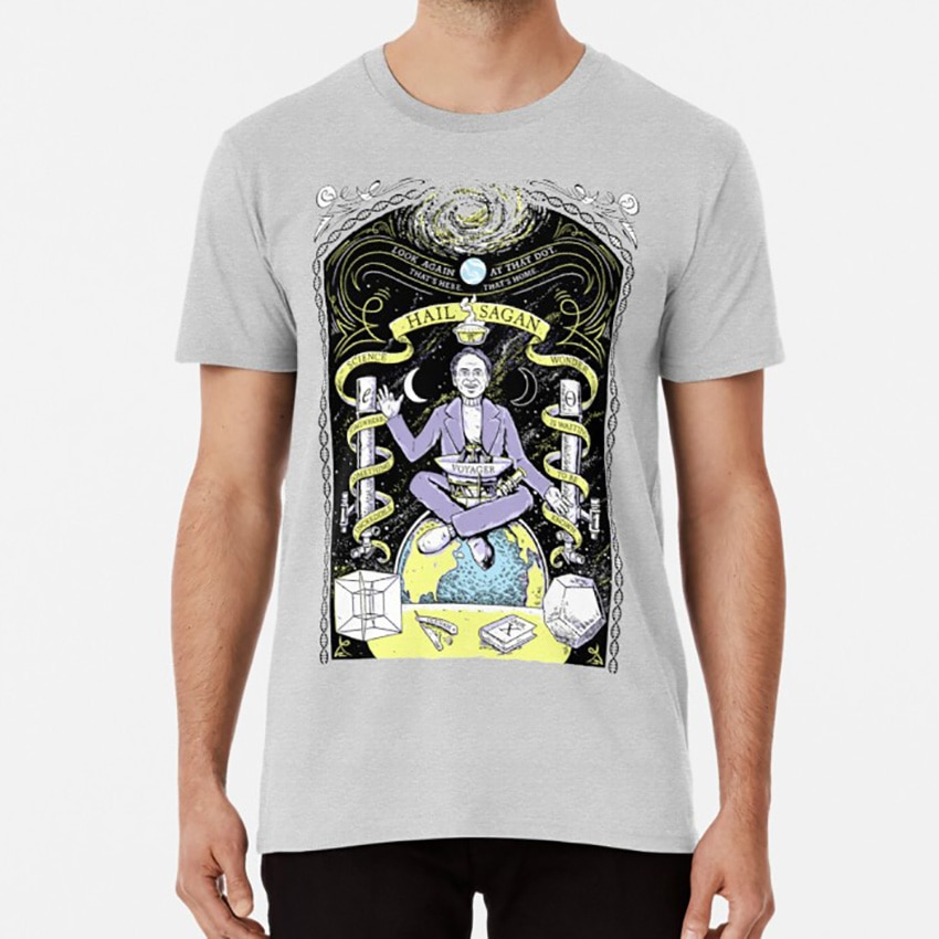 Camiseta de granizo, camiseta de carleslagan carl spagan, camiseta de carl spagan, camiseta hailsatan de hailsatán