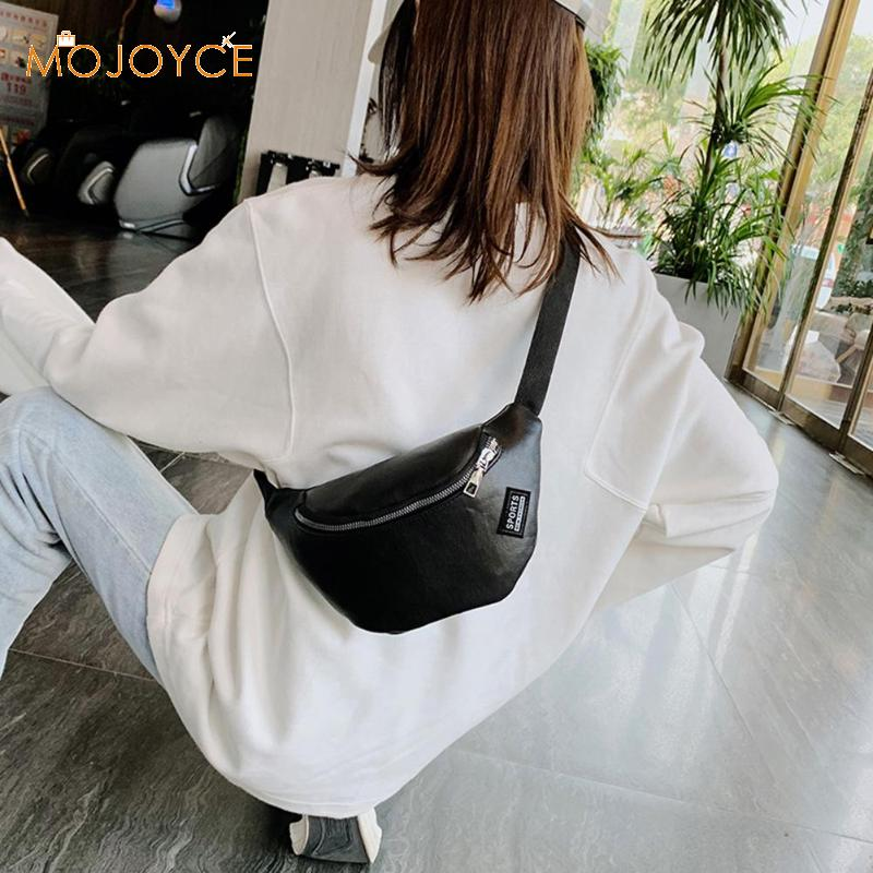 Women Waist Packs Leather Fanny Letter Belt Bags Fanny Chest Bag Casual Women Waist Pack Shoulder Crossbody Bag Dropshipping