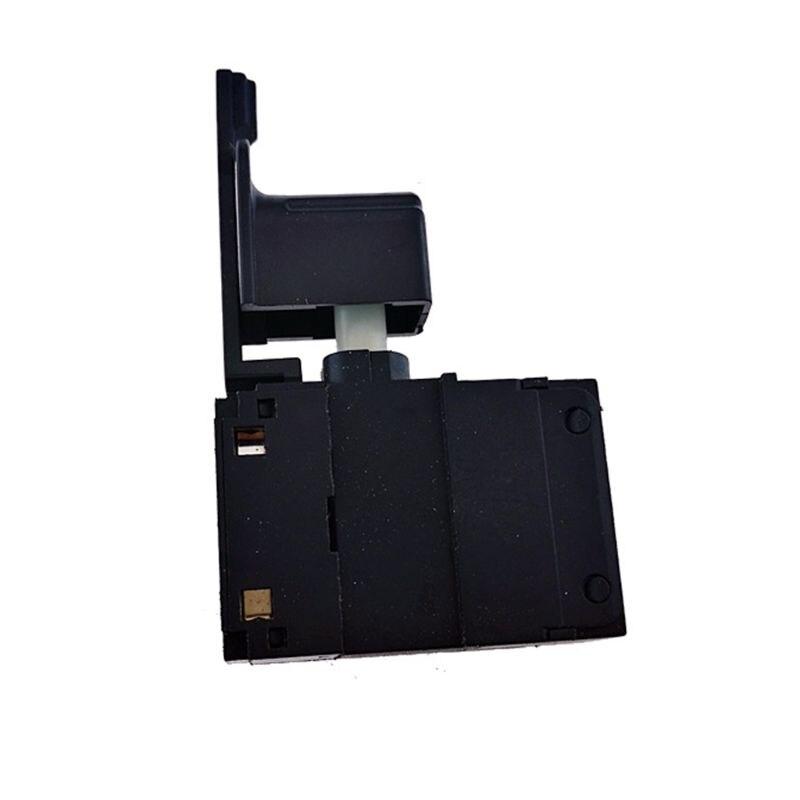 Kit de interruptor de botón de disparo taladro manual regulador de velocidad hacia adelante y hacia atrás