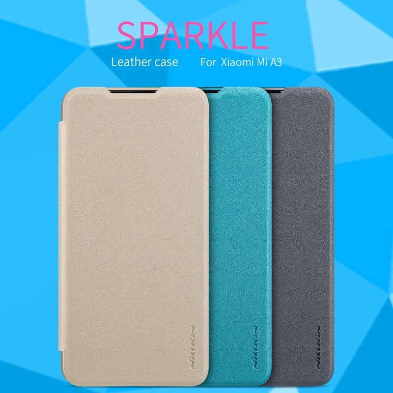 Nillkin блестящий кожаный чехол для Xiaomi mi A3/A3 Lite жесткий чехол из поликарбоната для Xiaomi mi CC9 CC9E флип-чехол для mi 9 Lite mi 9 Coque