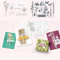 2021new metal cutting dies and stamps flowers embossing mold diy scrapbooking album paper craft knife mould blade punch stencils