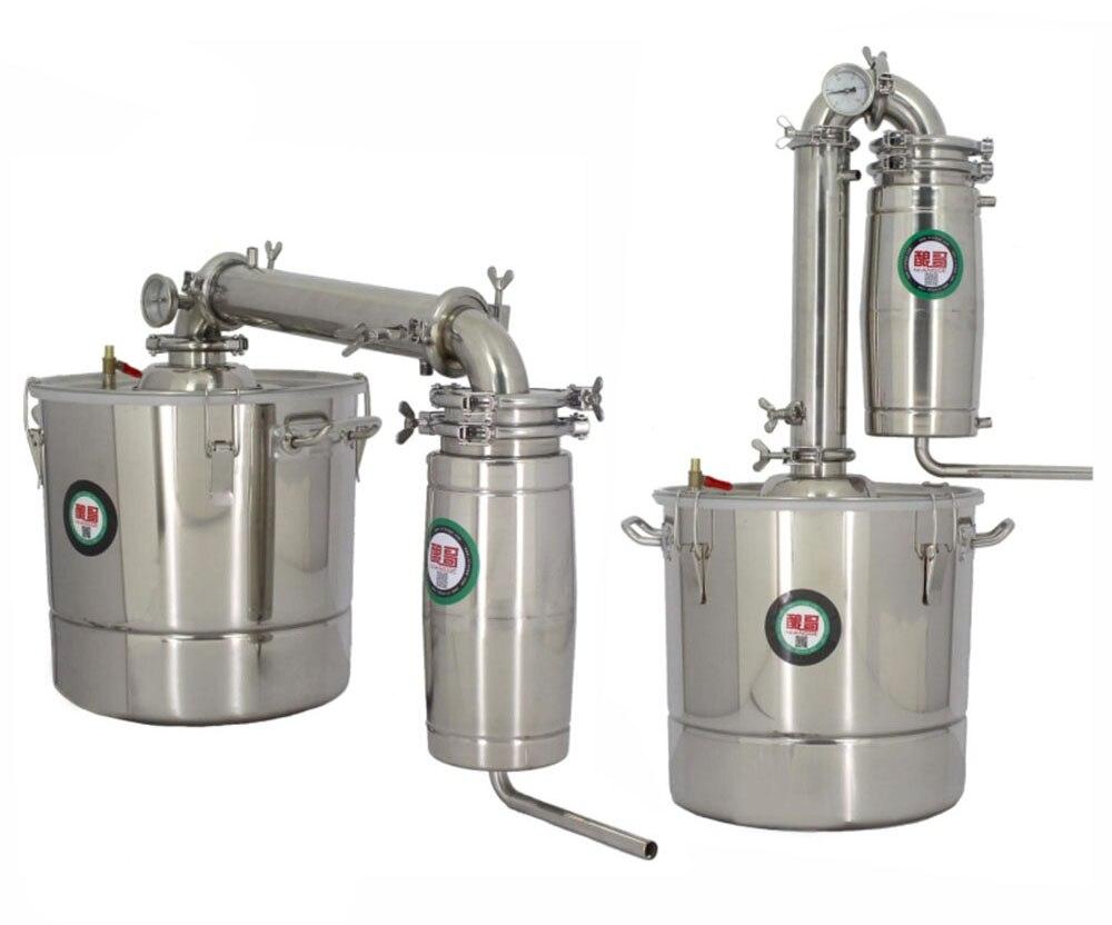20L Distiller Bar Household wine limbeck distilled water vodka maker brew Wine Brewing alcohol whisky