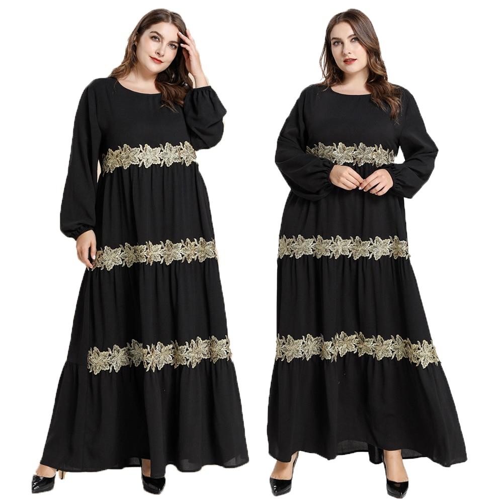 Muçulmano abaya feminino manga longa maxi vestido plissado kaftan maxi jilbab robes dubai vestido turquia roupas oriente médio oversized