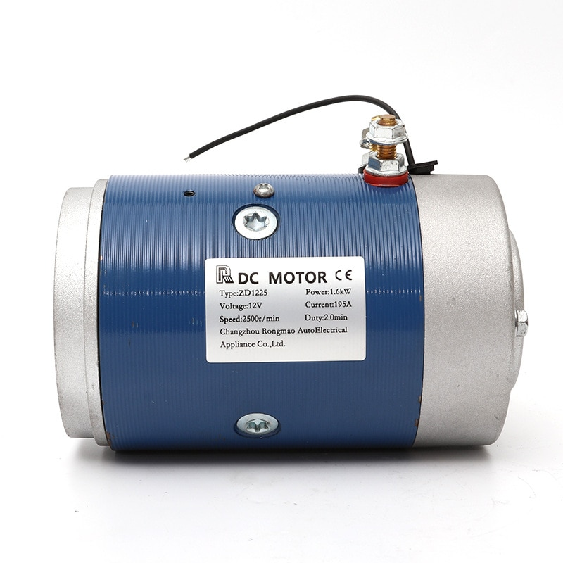 Copper Wire Movement Power Unit Motor Truck Tail Plate Special Brush Electric Machine 24V High-power DC Motor Electrical 60 2.5k enlarge