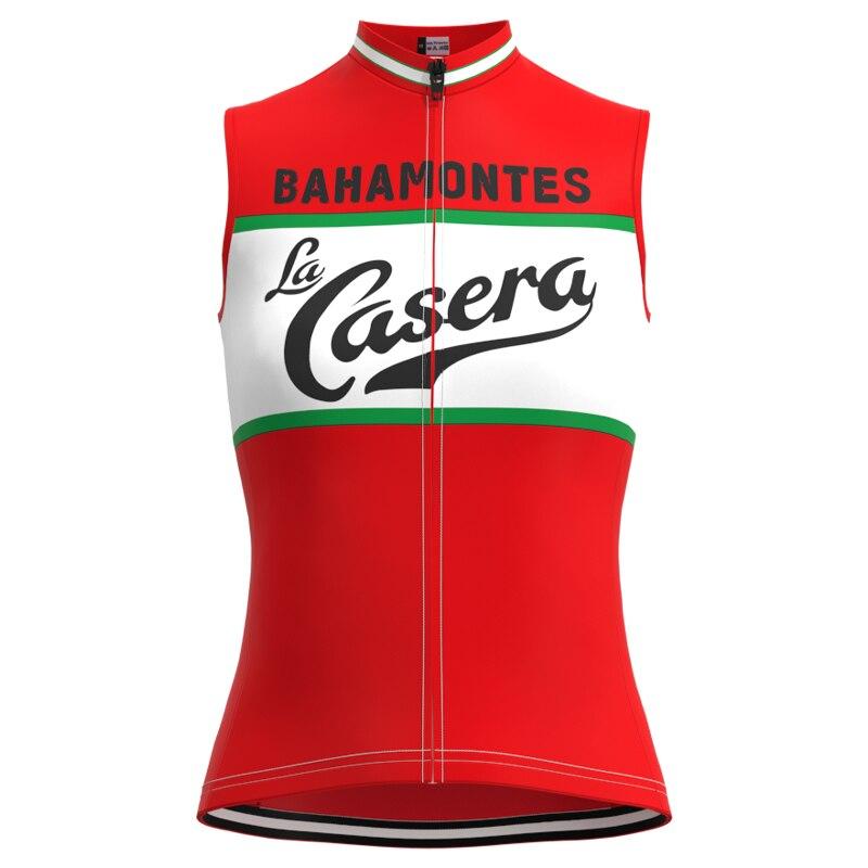 Camiseta de competición de España del 1973 para mujer, camiseta Retro para ciclismo, camiseta sin mangas para triatlón, maillot de ciclismo para hombre