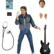 NECA  Figure Marty Audition Version Singing Guitar Back To The Future UL Timate Marty Mcfly Movable