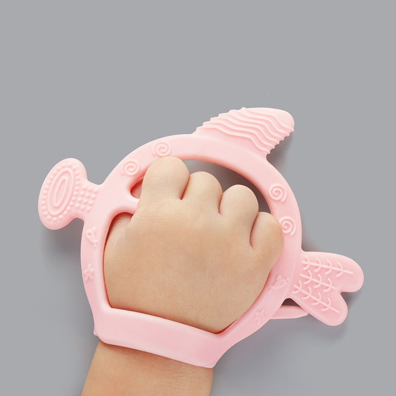 Kids Teething Silicone Baby Nursing Teether gloves Pacifier Newborn Dental Care Durable Child Suckin