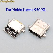 ChengHaoRan prise de charge 1 pièce   Prise de charge pour Nokia, Microsoft Lumia 950 XL, pièce de rechange pour Nokia 950xl