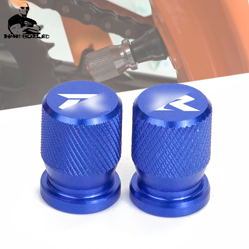 Tampas de roda de moto à prova de roubo roda pneus válvulas haste do pneu tampas da válvula ar capa hermética para suzuki gsx r gsxr 600 750 1000 k7 k9