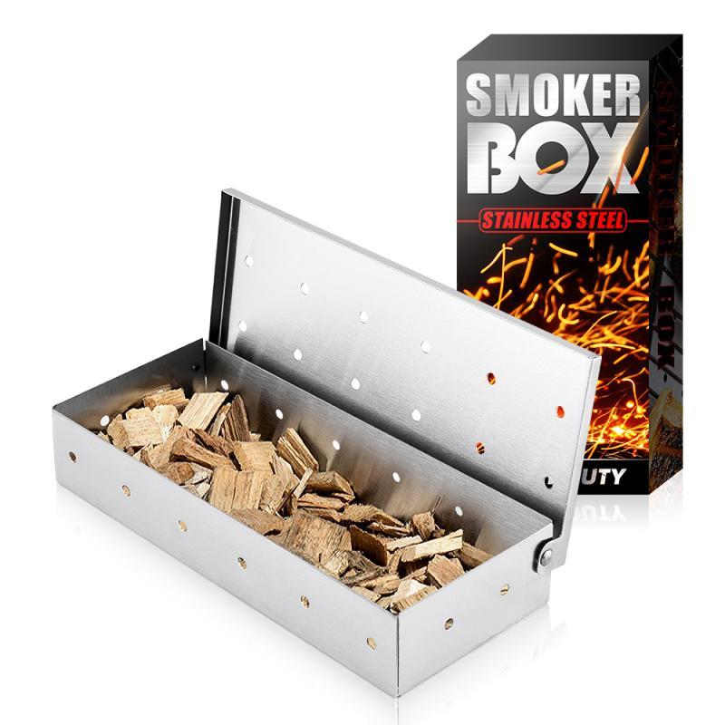 B-B-Q Grill Smoker Box