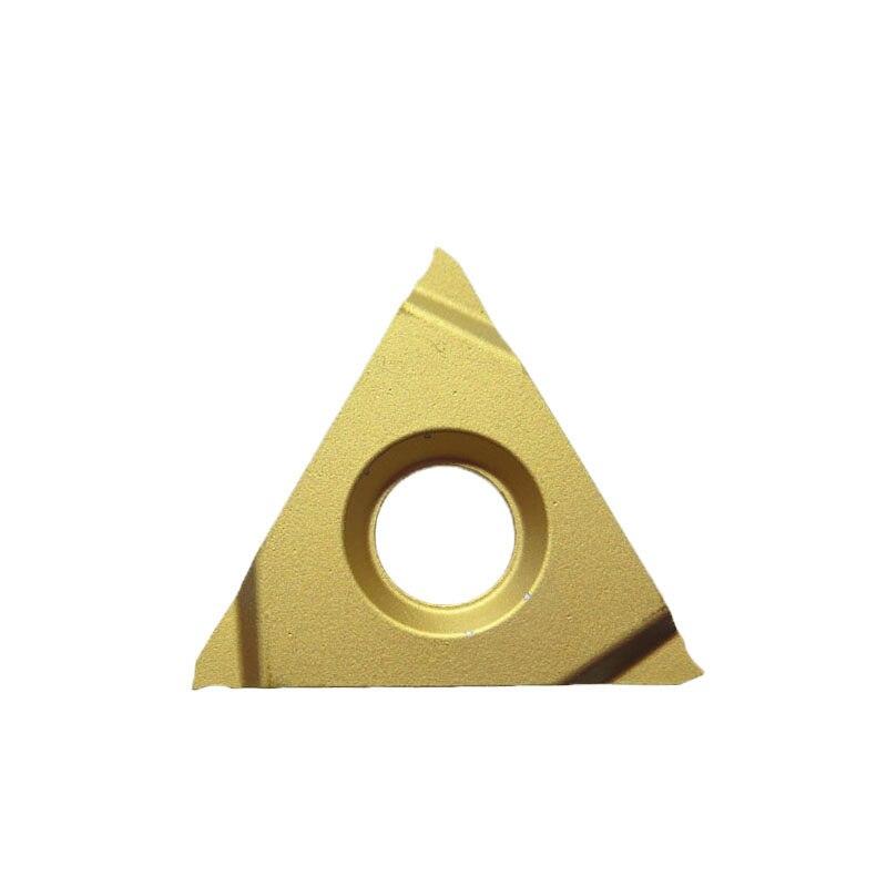 إدراج الأصلي 154.3-16160 YBC251 10 قطعة خيوط تحول أداة كربيد إدراج عدة المخرطة