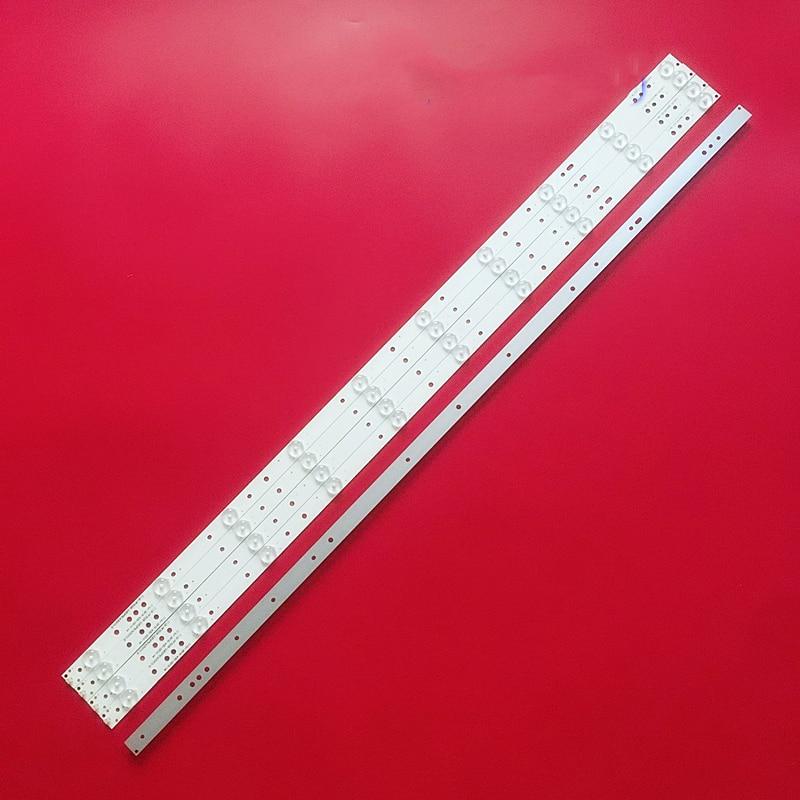 100% Новые 5 шт/комплект светодиодный полоски для 43 ТВ фунтов лёгкий нейлоновый трос PF3030 GJD2P5435X10AHC2 D LB-PF3030-GJD2P5435X10AHC2-D