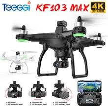 Teeggi KF103 Max Drone GPS 5G WiFi 3-Axis Gimbal Anti-Shake With 4K HD Camera X35 Professional RC Br