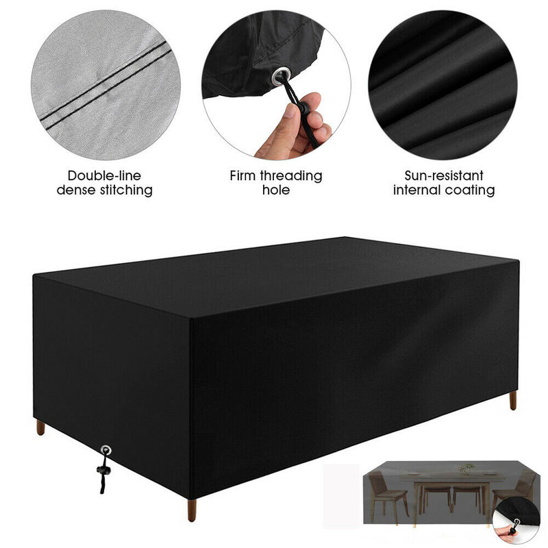 40 Sizes Outdoor Patio Garden Furniture Cover Waterproof Oxford Sofa Chair Rattan Table BBQ Protector Rain Snow Dust Proof Cover enlarge