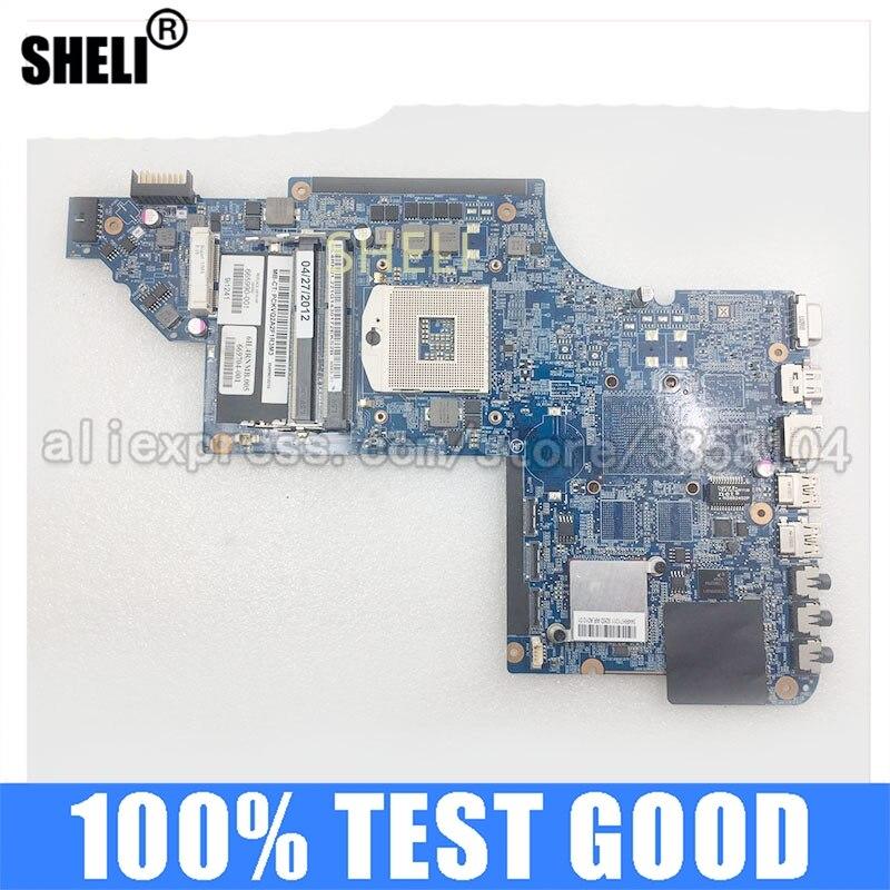 Placa-mãe do Portátil 665990-001 para hp Computador Portátil Mainboard Placa Principal Hm65 100% Testado no Bom Trabalho Dv7 Dv7-6000
