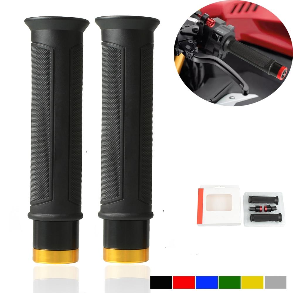 Perillas de motocicleta de 7/8 22mm manillar antideslizante manillar barra manillar para HONDA XR230 XR250 XR400 MOTARD XR 230 250 400