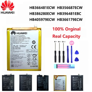 Оригинальный аккумулятор для телефона Huawei P9 P10 P20 Honor 8 9 Lite 10 9i 5C Enjoy Nova Mate 2 2i 3i 5A 5X 6S 7A 7X G7 Y7 G8 G10 Plus Pro SE
