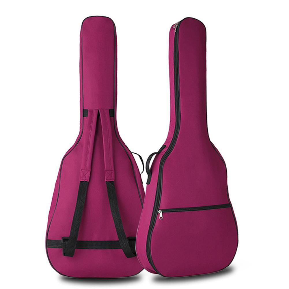 Yfashion Inch Waterproof Oxford Cloth Portable Guitar Case Double Straps Acoustic Gig Bag Guitar Backpack enlarge