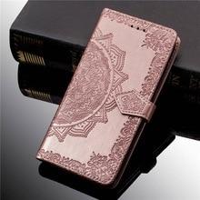 Étui à fleurs imprimé en cuir Rose pour vue Wiko 2 Go Plus Pro 3 LITE Pro View GO Lite Max Prime XL housse de portefeuille à rabat avec sangle