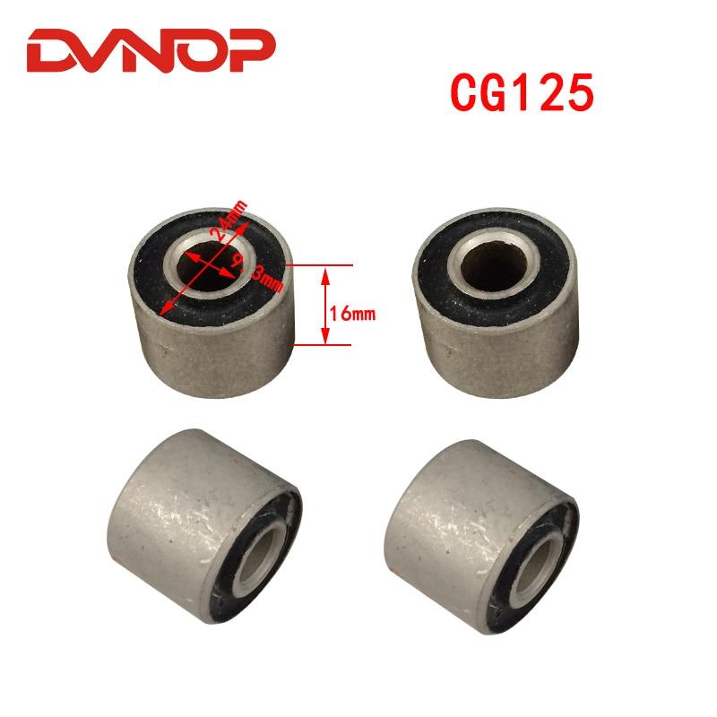 (4 unids/set) bloque de parachoques de goma para motocicleta CG 125 de alta calidad para Honda CG125 125CC reemplazo