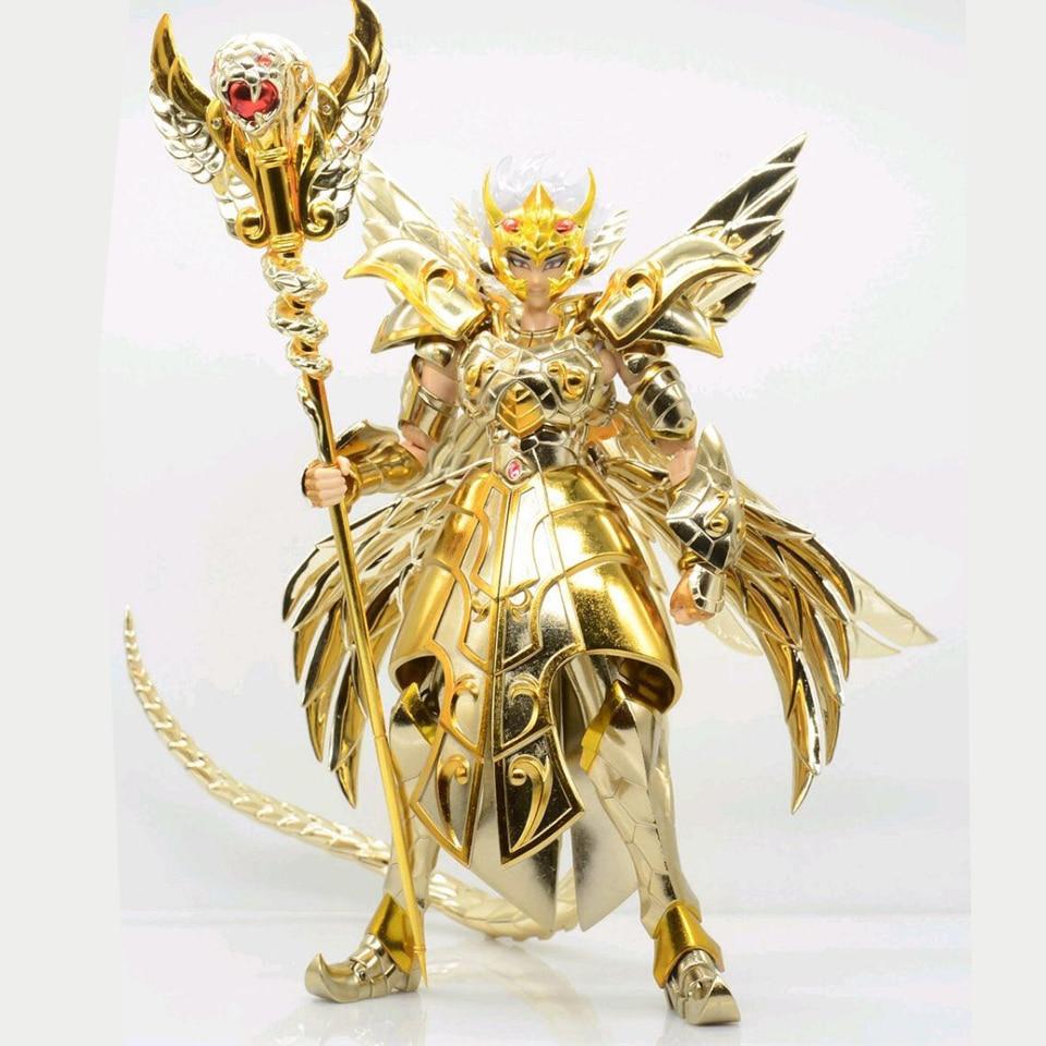 Tronzo modelo JM Saint Seiya, próxima dimensión EX 13th Gold Saint Ophiuchus Odysseus, figura de acción de PVC, modelo de armadura metálica, regalos de Juguetes