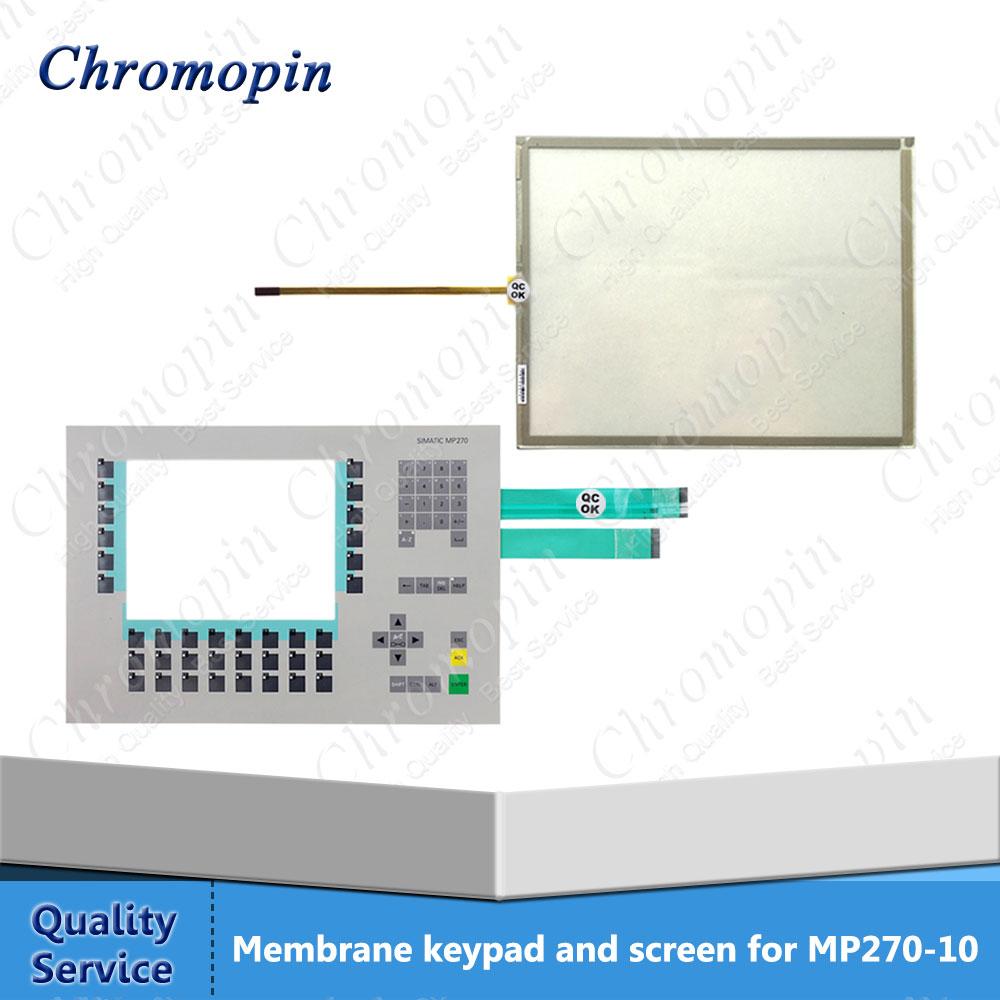 Interrupteur à Membrane pour 6AV6542-0AA15-1AX0 6AV6 542-0AA15-1AX0 6AV6542-0AB15-1AX0 6AV6 542-0AB15-1AX0 MP270 10 avec écran Tactile