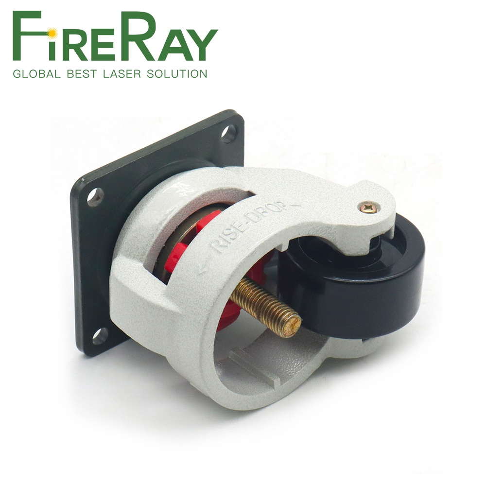 FireRay Universal Wheel GD60 Flat Bottom and Screw Type for CO2 Laser Cutting & Engraving Machine