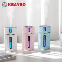 KBAYBO     mini purificateur dair electrique ultrasonique  300ML  USB  diffuseur dhuile essentielle  aromatherapie  humidificateur pour maison et bureau