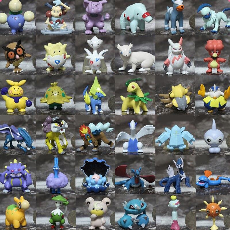 Pokemon figurine modèle Clamperl Metang Kyogre Entei Raikou Lugia ensemble poupée jouet Collections