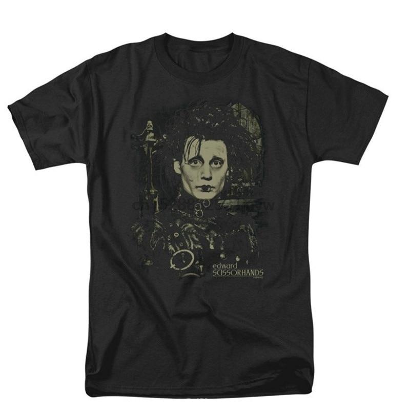 Edward Scissorhands Fantasie Drama Film Edward Johnny Depp Erwachsene T Hemd