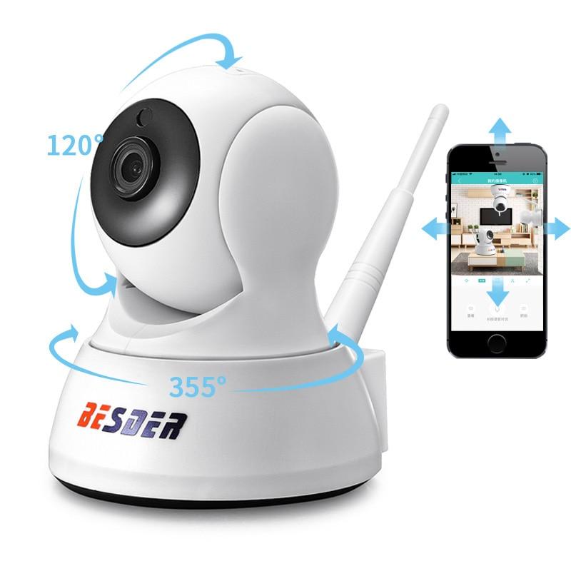 BESDER 1080P أمن الوطن كاميرا IP اتجاهين الصوت كاميرا صغيرة لاسلكية للرؤية الليلية CCTV واي فاي كاميرا سحابة تخزين مراقبة الطفل