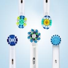 Testine per spazzolino elettrico orale B testine sostituibili per orale B elettrico Advance Pro Health Triumph 3D Excel vitalità 4 pezzi