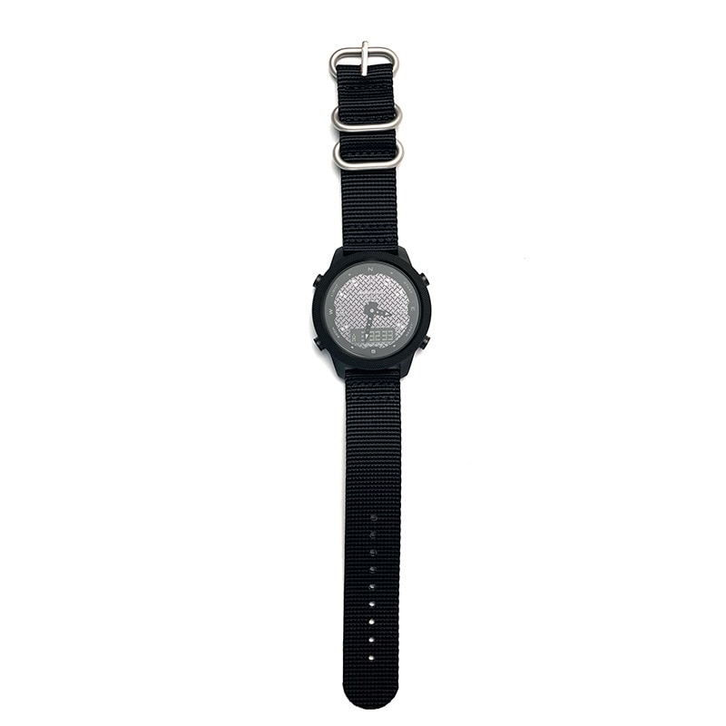 Male outdoors waterproof smart compass watch watch light solar charging display pointer enlarge