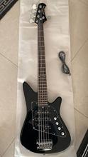 Guitare basse, 5 cordes, livraison gratuite, noir