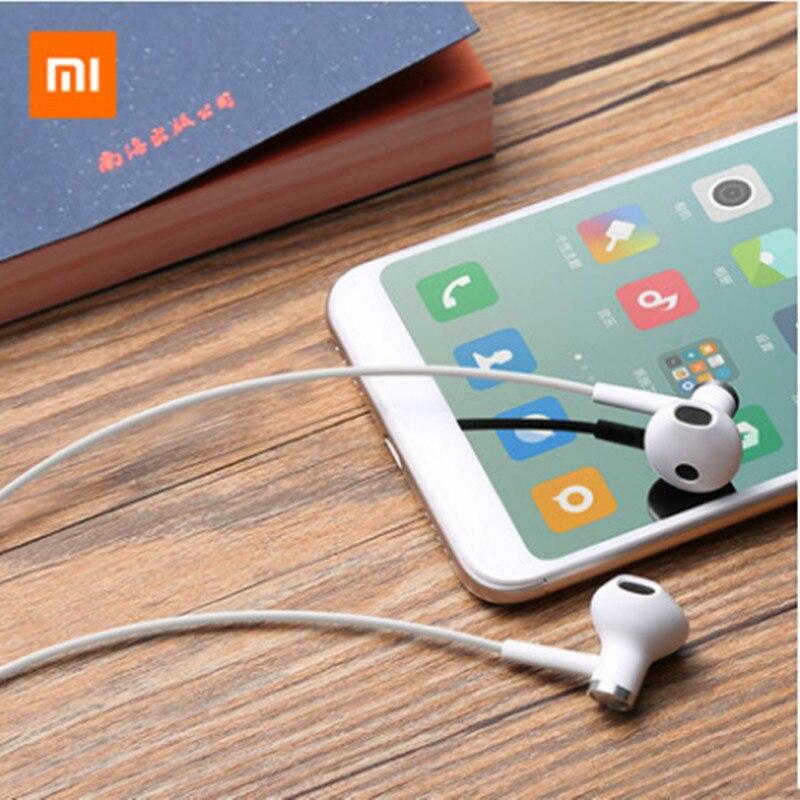 Original nuevo Xiaomi mi CC9 CC9e A1 Dual de las unidades de la mitad en la oreja los auriculares de cable de 3,5 MM de auriculares para rojo mi s2 Nota 6 5 pro 7A 8A