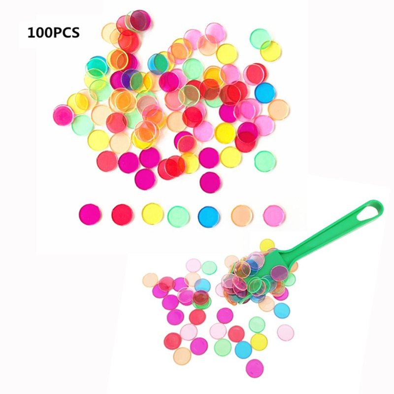 【Time-limited Promotion】Montessori Learning Toys Magnetic Stick Wand Set With Transparent Color