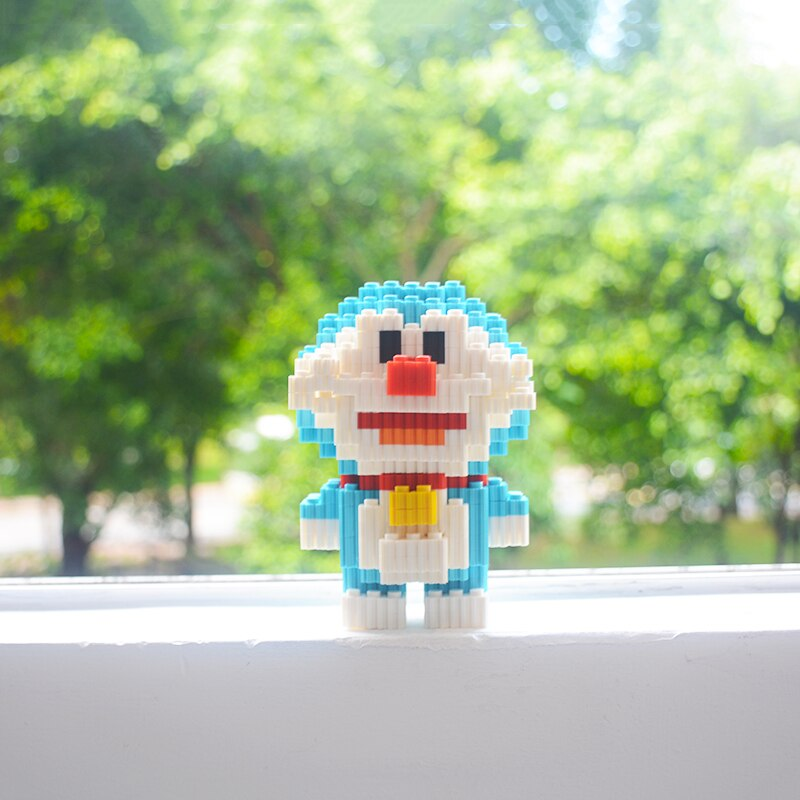 PGC007 bloques de construcción SuperMario Bros de personaje de dibujos animados de ladrillos educativos tamaño Micro bloques de juguetes para los niños