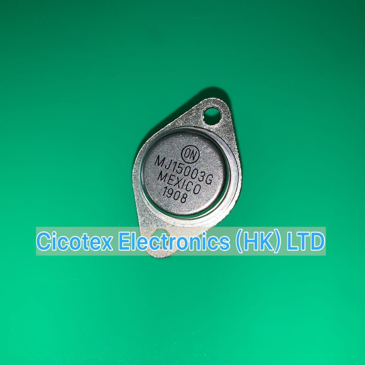 10 unids/lote MJ15003G TO3 MJ15003 G 15003 transistor NPN 140V 20A a 3 15003G 15003-G
