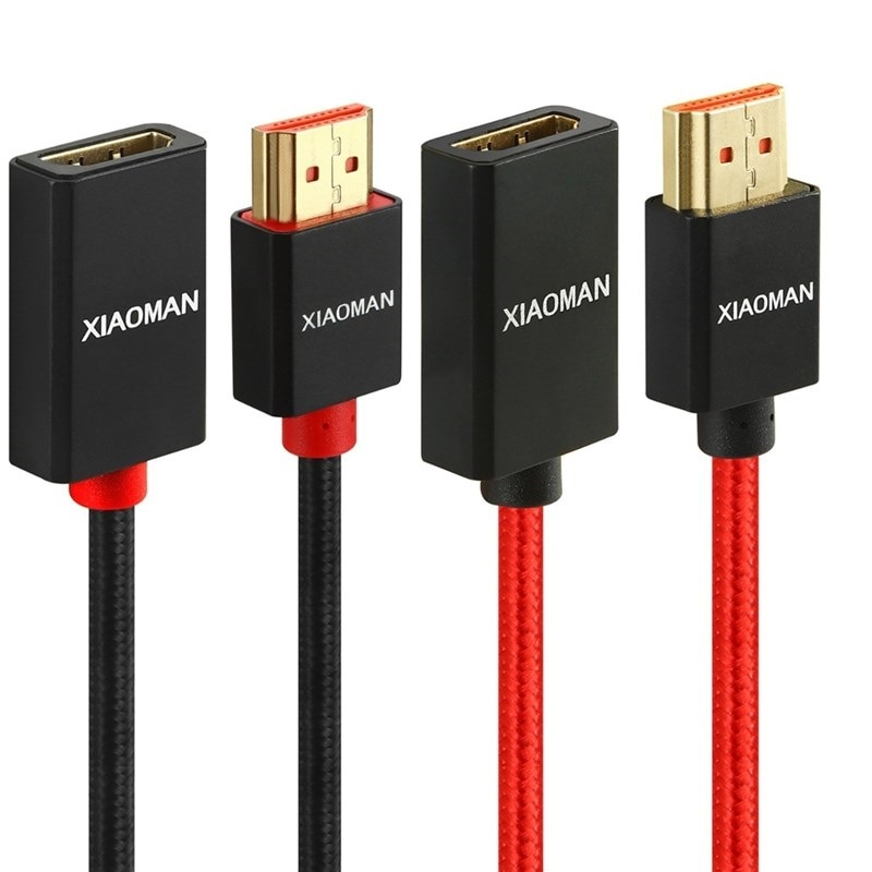 Cable de extensión HDMI macho a hembra con Ethernet 4K 3D para...