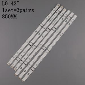 Image 4 - Светодиодная подсветка 3 шт x 43 дюйма для LG 43uh619v 43UH610V 43UH6030 UF64 UHD _ A 43LH5700 43LH60FHD HC430DGG SLNX1 43UF6400 43LG61CH