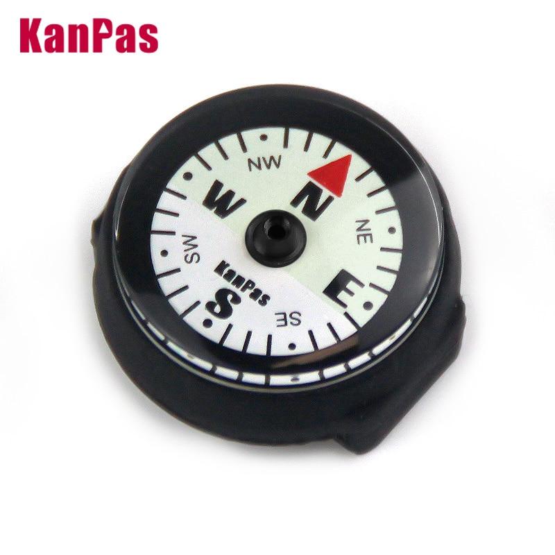 Высококачественный наручный компас KANPAS, супер светящийся компас, базовый Компас для дайвинга, аксессуар для активного отдыха, без пузырько...