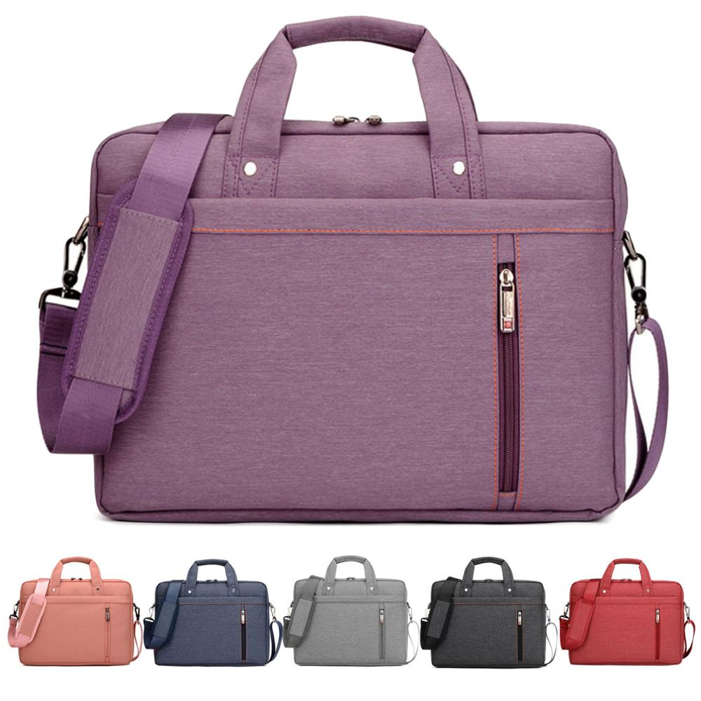 Besegad portátil caso portátil capa carry bolsa de ombro manga para apple macbook universal notebook saco 13 15.6 17.3 polegada