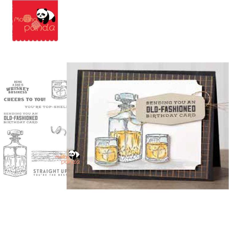 MP110 виски металлические штампы и штампы Трафарет Шаблон для скрапбукинга тиснение изготовление бумажных карточек альбом декор DIY